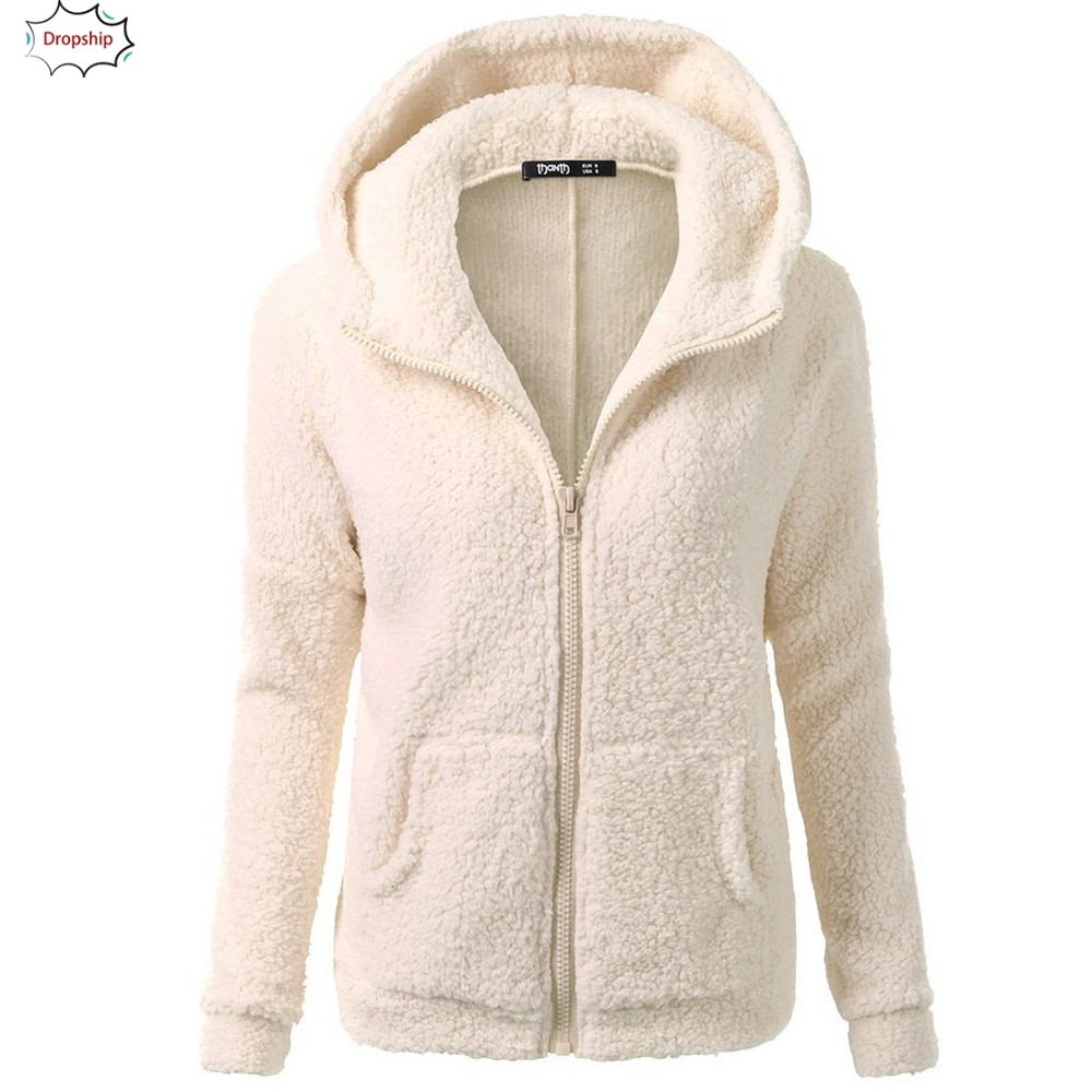 Extreme Pop Womens Hooded Cable Knitwear Zip Up Cardigan Sweaters Warm Fleece Sherpa Lined Winter Jacket UK Stock