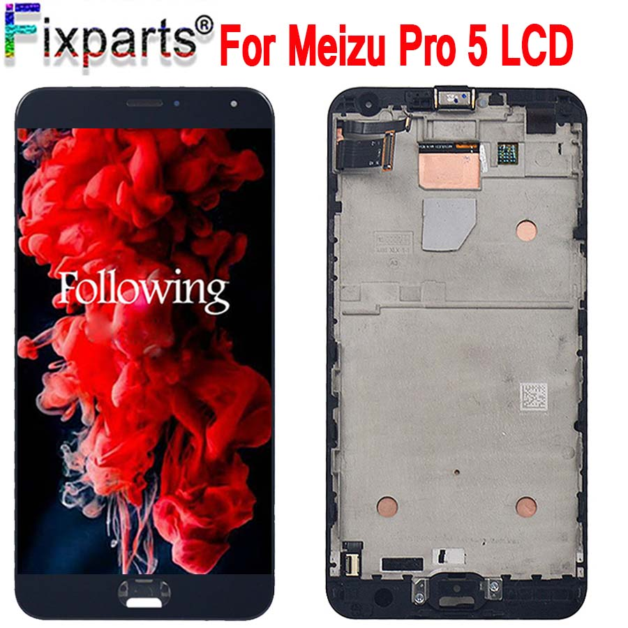5.7 For Meizu Pro 5 Pro5 LCD Display Touch Screen Digitizer Assembly With Frame Replacement For Meizu Pro 5 LCD5.7 For Meizu Pro 5 Pro5 LCD Display Touch Screen Digitizer Assembly With Frame Replacement For Meizu Pro 5 LCD