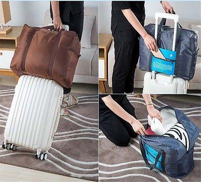 Bolsa de equipaje de viaje, bolsa de viaje plegable de gran tamaño, bolsa de viaje plegable