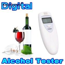 Kebidumei Мини Профессиональный Тестер дыхания алкоголя цифровой полицейский анализатор алкоголя тестер гаджет детектор для водителя безопас...