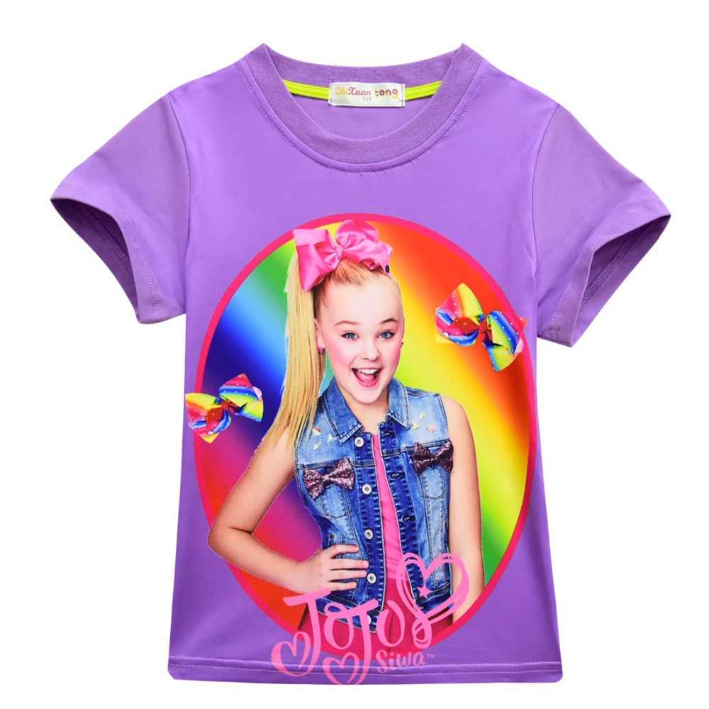 93eada639e7a3 Detail Feedback Questions about 100% Cotton T Shirts for Girls 2018 ...