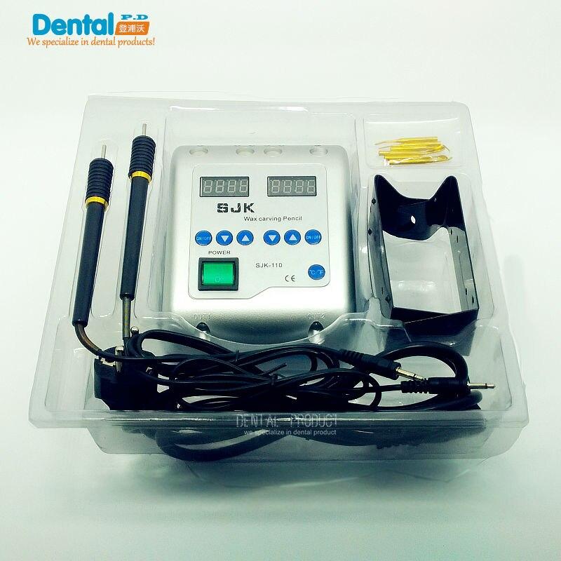 1 компл. зубные лабораторное оборудование Электрический Воск Вырезка нож машина двойной ручки 6 Воск советы Воск Вырезка ручка