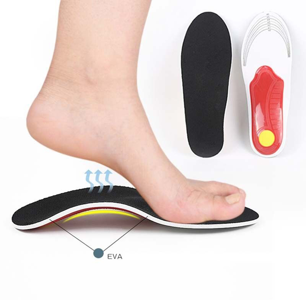 Orthotic Insole Arch Support Flat Feet Insert Foot Care Plantar Fasciitis Relief