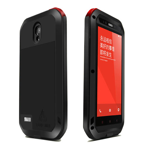 Original Love Mei Waterproof Shockproof Rugged Tempered Gorilla Glass Waist Metal Aluminum Case Cover For Xiaomi
