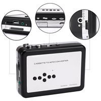 Top Deals Relliance Nostalgia USB Cassette To MP3 Converter Retro Tape Player Convert Adapter With Thumb