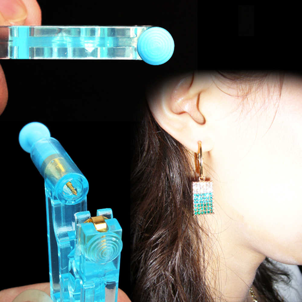 Showlove-1 Unit New Disposable Ear Piercing Unit Sterilized Ear Stud Earring Piercing Gun Body Jewelry Easy to Use At Home