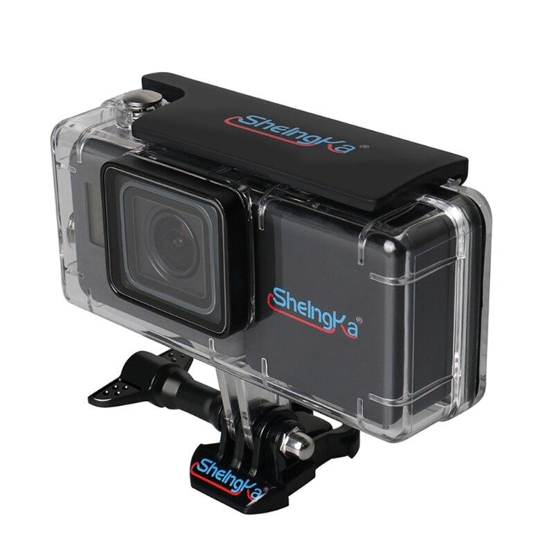 45 M Custodia Impermeabile con External 2300 mAh Batteria Set per Hero 5 Camera