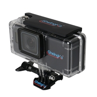 45M Waterproof Housing Case With External 2300mAh Battery Set For Hero 5 Camera