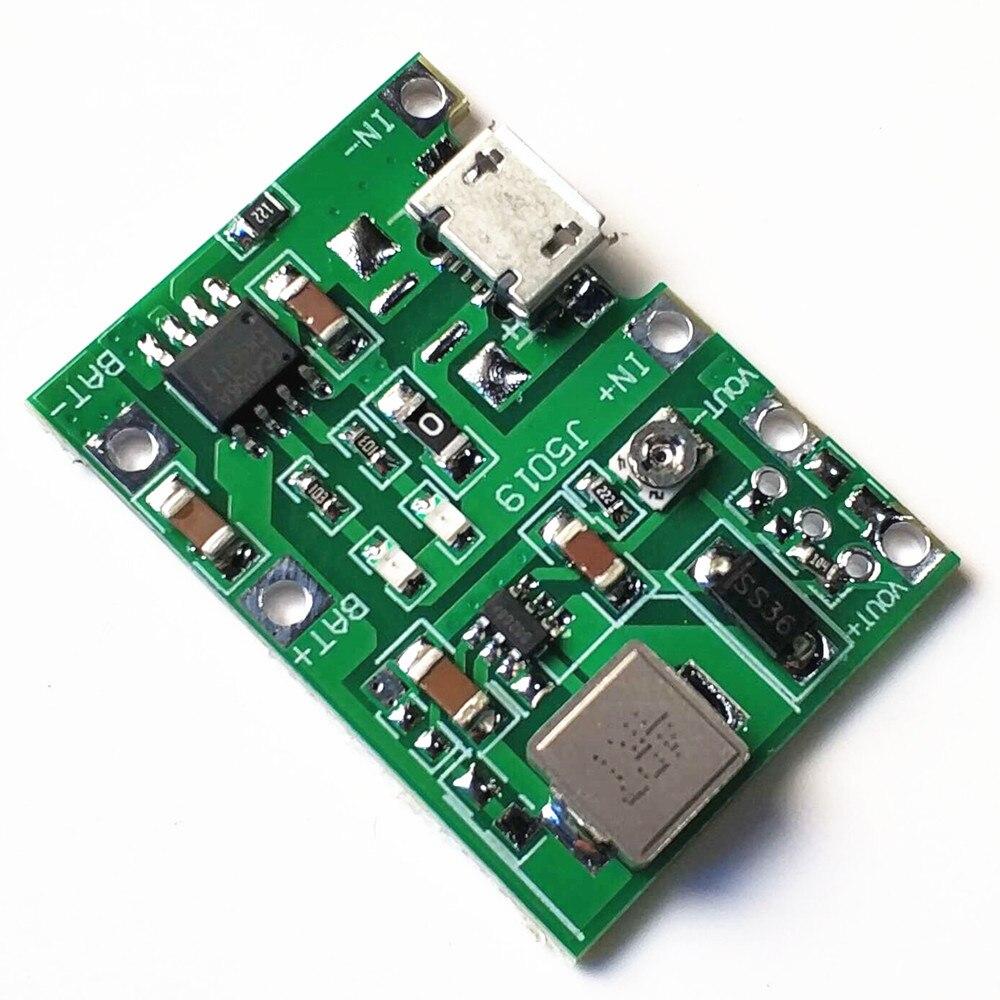 3.7V 9V 5V 2A Adjustable Step Up 18650 Lithium Battery Charging Discharge Integrated Module3.7V 9V 5V 2A Adjustable Step Up 18650 Lithium Battery Charging Discharge Integrated Module