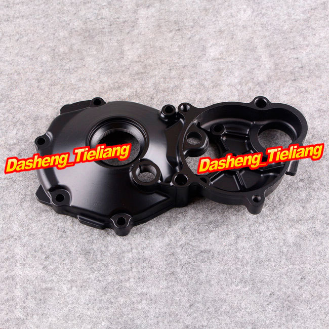 Motorcycle Stator Engine Crank Case Cover for Suzuki Hayabusa GSX1300R GSXR 1300 Right 1999 2000 2001 2002 2003 2004-2012, Black titan tfd 12025h12zp ku rb