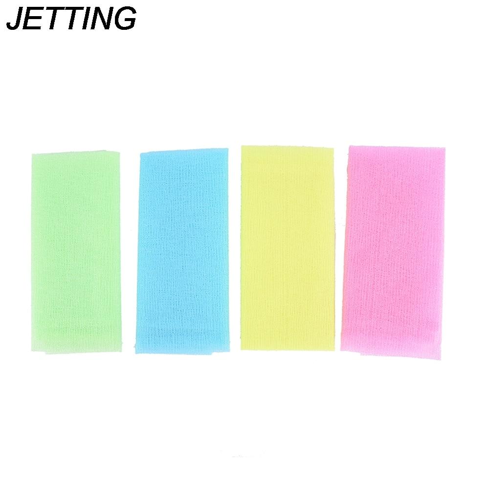 New Nylon Japanese Exfoliating Beauty Skin Bath Shower Wash Cloth Towel Back Scrub Body Cleaning Washing Sponges & Scrubbers