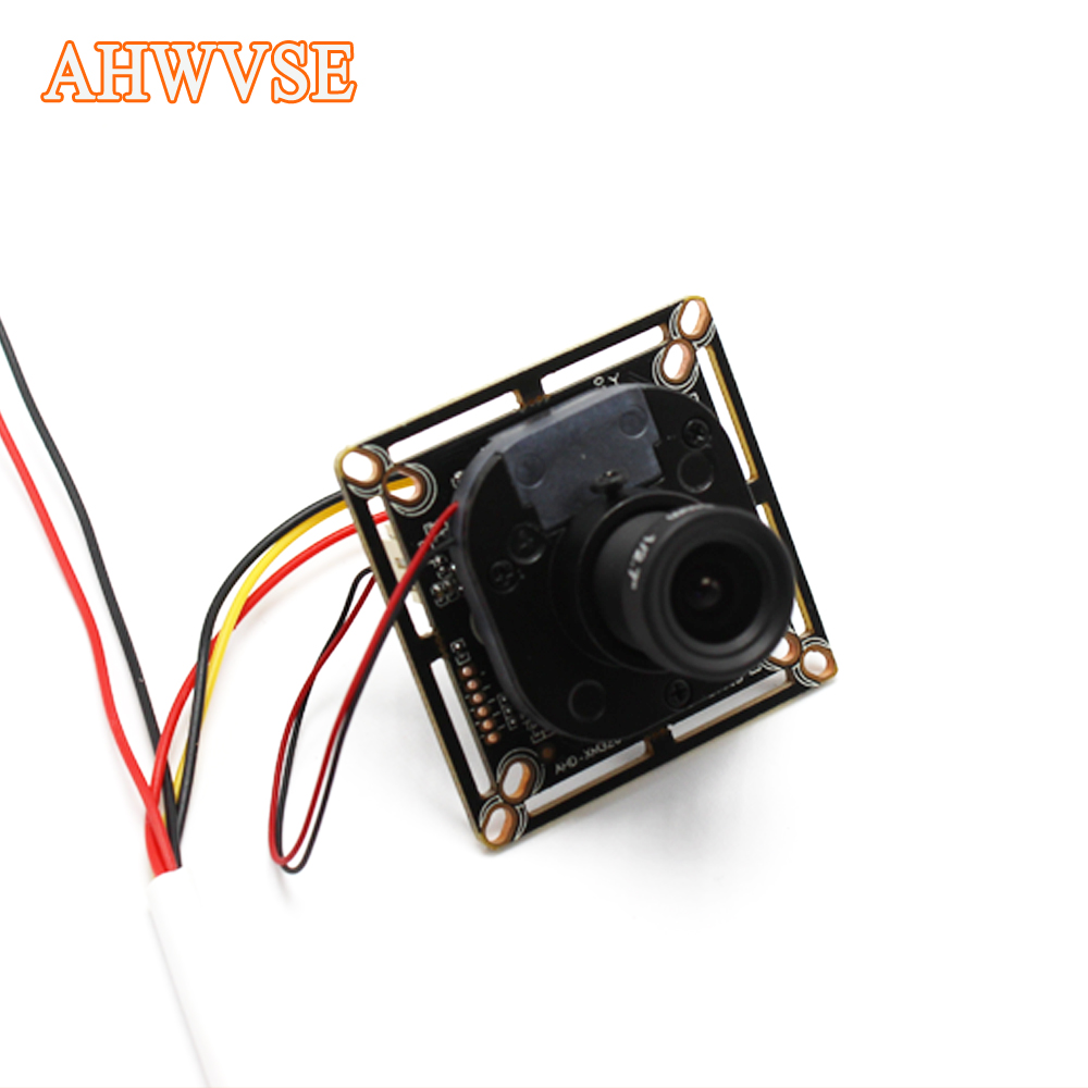 Low illumination AHD Camera Module Board PCB SONY IMX323 2000tvl AHDH 1080P  IRCut NightVision M12 Lens CCTV Security
