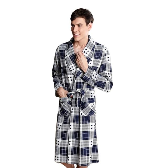 2017 coton peignoir hommes femmes sommeil top kimono robes pour