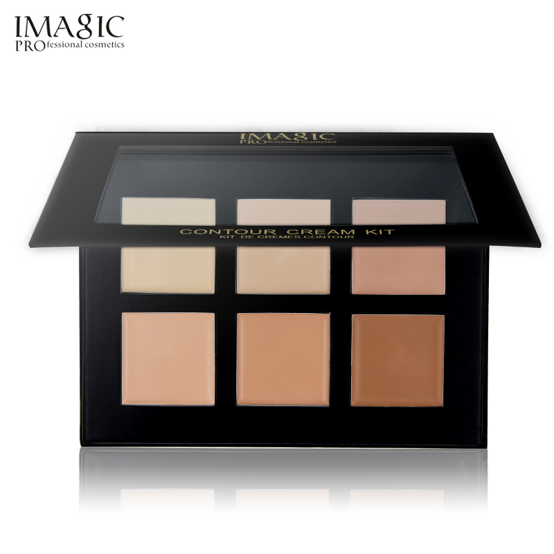 IMAGIC Cream Contour Palette Kit Pro 6 Colors Concealer Makeup Palette Concealer Face Primer for all skin types крем gigi advanced peeling cream for all skin types