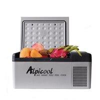 20 градусов морозильник холодильник 20L 12 В/24 В портативный ремень привода вентилятора автомобильный холодильник для авто кулер морозильник