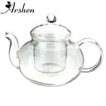 Arshen 400ml 13 5oz Borosilicate Durable Glass Teapot With Inner Filter Heat