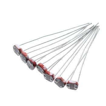 20PCS  LDR Photo Light Sensitive Resistor Photoelectric Photoresistor 5528 GL5528 5537 5506 5516 5539 5549 For Arduino 5