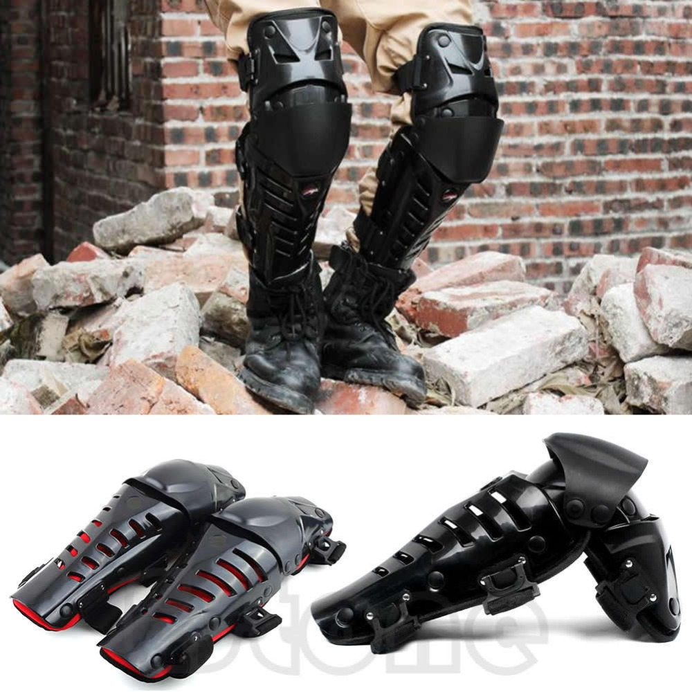 Image 2 - New Motorcycle Racing Motocross Knee Protector Pads Guards  Protective Gear High QualityMotorcycle Protective Kneepad   -