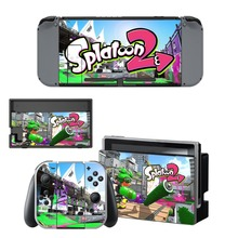 Splatoon 2 Game Skin Sticker For Nintendo Switch Console Controller Skin Protector Cover Accessories For NS