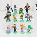 12pcs/lot 4-6cm Beautiful Furuta Choco Egg The Legend Of Zelda Figure Loose Part Good For Kids