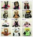 Animal Cartoon Winter Hat Scarf Glove Panda / Duck / Frog / Wolf / Kitty / Monkey / Elephant / Brown Tiger / White Tiger