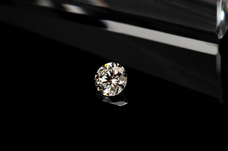 0.1CT 3.0mm G-H Loose Moissanite Excellent Round Cut Jewelry Test Positive CHARLES & COLVARD Fire Lab Grown Moissanite