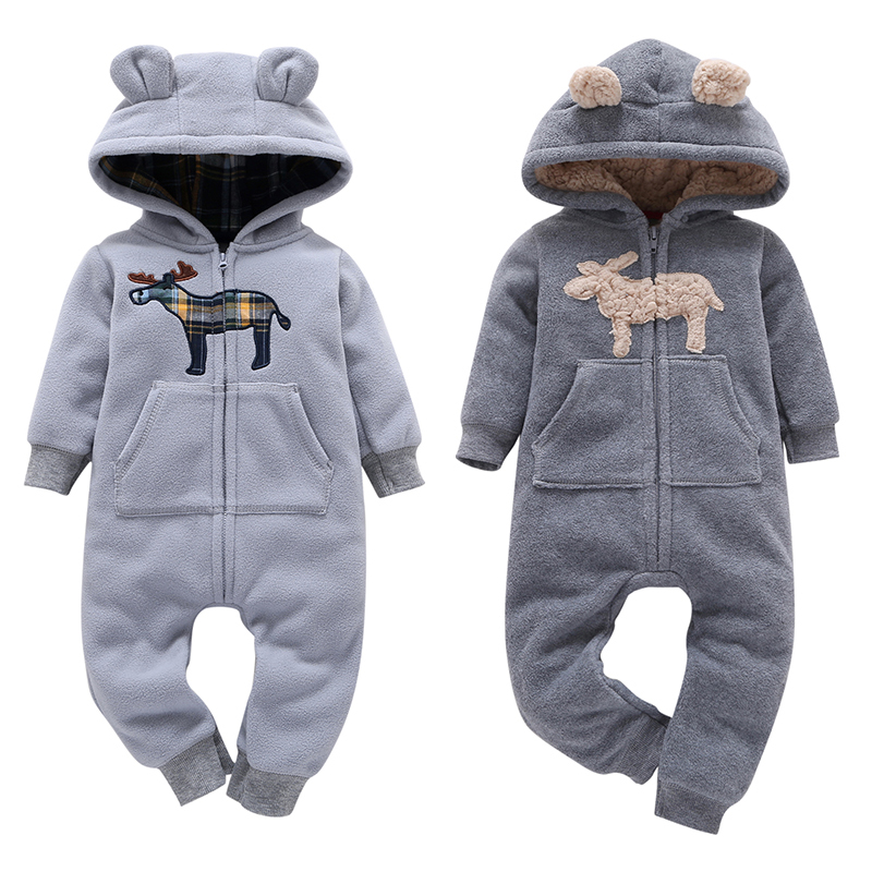 2018 New Hot Sales Baby Girl Clothing O-neck Autumn Winter Bebes Boy Romper Newborn Climbing Clothes Infant Jumpsuit