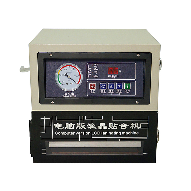 8 inch Auto LCD height adjustable LY 818 digital OCA laminating machine for mobile phone screen repair tools