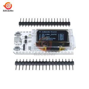 Micro USB ESP32 ESP-32 CP2102 Serielle Drahtlose WiFi Bluetooth Entwicklung Bord 0.96 OLED Display WiFi Modul 32M Flash 3,3 V-7V