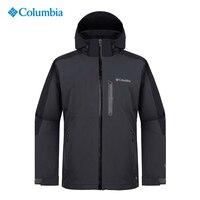 Колумбия открытый мужской водостойкий PM4356 тепло теплый один заряд ветронепроницаемая куртка полиэстер ветрозащитный тепловой удобные