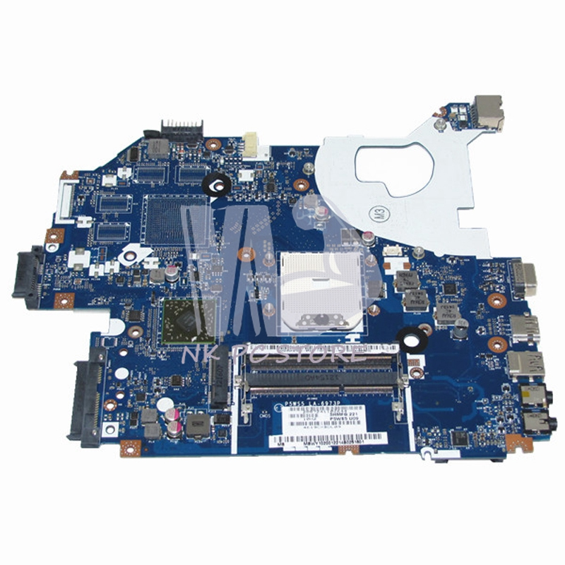 все цены на MBWY102001 MB.WY102.001 For Gateway NV55 NV55S Laptop Motherboard P5WS5 LA-6973P Socket fs1 DDR3 Full tested онлайн