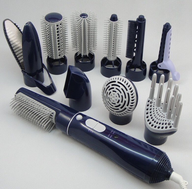 Hair Dryer With A Comb Brush For Home Use Powerful