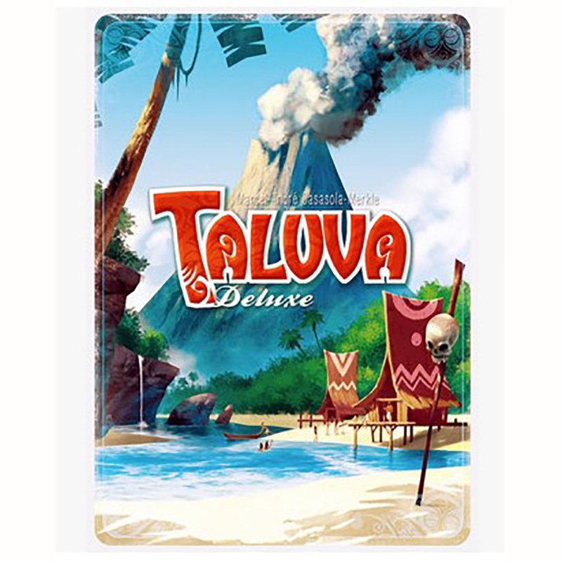 Taluva настольная игра 2 4 игрока, чтобы играть Семейные/вечерние/друзья Смешные Классические карты игры Лучший подарок