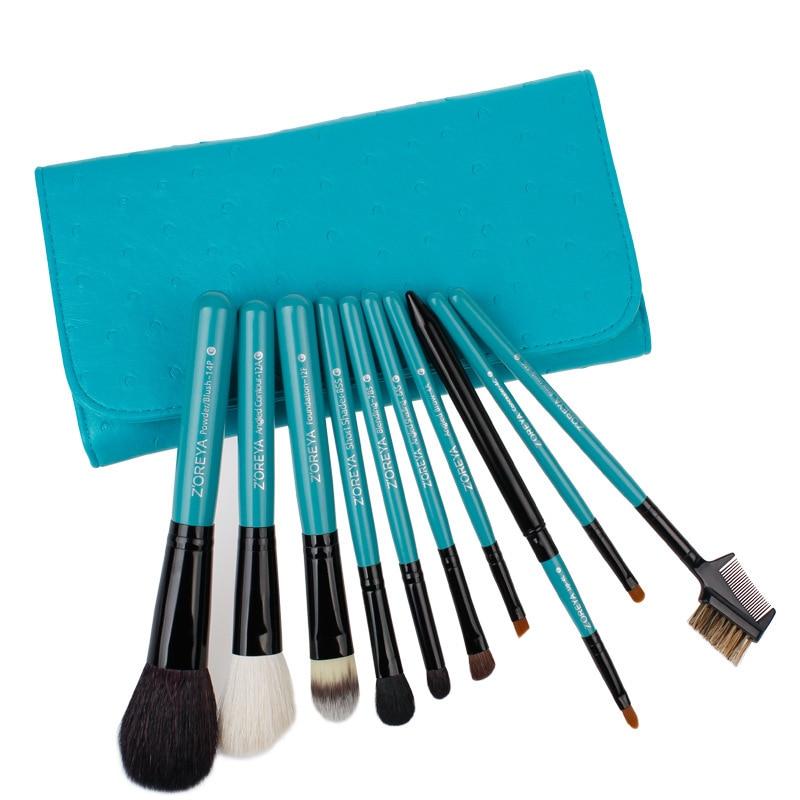 все цены на Fine Makeup Brush Set Eye Shadow Eyebrow Brush Blush Brush Makeup Tool With A Package Makeup Sleeve Brush High Quality Wool онлайн