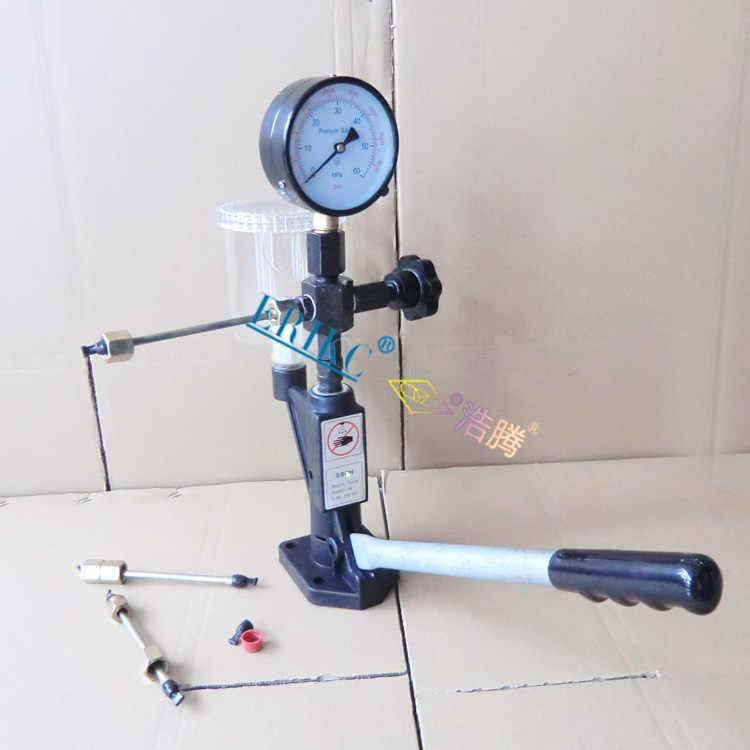 ERIKC Diesel Injector Tester CRI100 High Precise Black Piezo Injector  Nozzle Tester Validator S60H