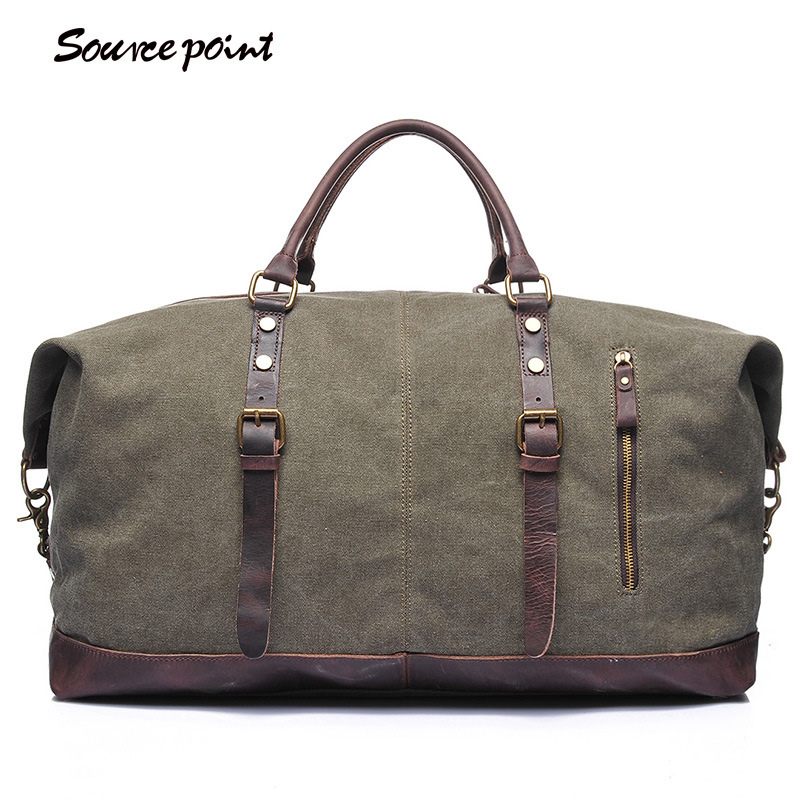 YISHEN Canvas Men's Travel Duffle Large Capacity Male Travel Bag Top-handle Men Crossbody Bag Casual Travel Shoulder Bag YD-2077 yishen men oxford large capacity travel