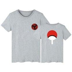 LUCKYFRIDAYF Naruto T koszula mężczyzna hokage ninjia koszulka z krótkim rękawem bawełna Uchiha Syaringan Tshirt śmieszne Anime moda niestandardowe 3