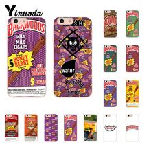 Yinuoda Backwoods Honey Berry Cigars Novelty Fundas Phone Case Cover for iPhone 8 7 6 6S Plus X XS MAX 5 5S SE XR 10 Cases