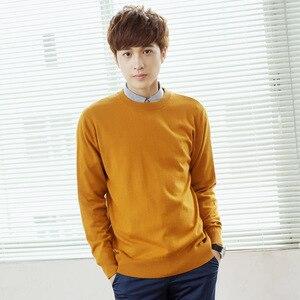Image 2 - Męskie swetry mieszanka kaszmiru Knitting V neck swetry gorąca sprzedaż wiosna i zima mężczyzna wełniana dzianina wysokiej jakości bluzy ubrania