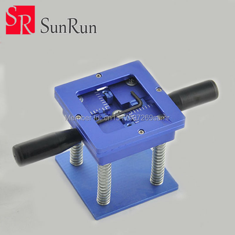 Good Quality BGA Reballing Station with Handle 90mm x 90mm Stencils Template Holder Jig цена