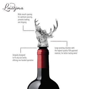 Herten wijnschenker 2