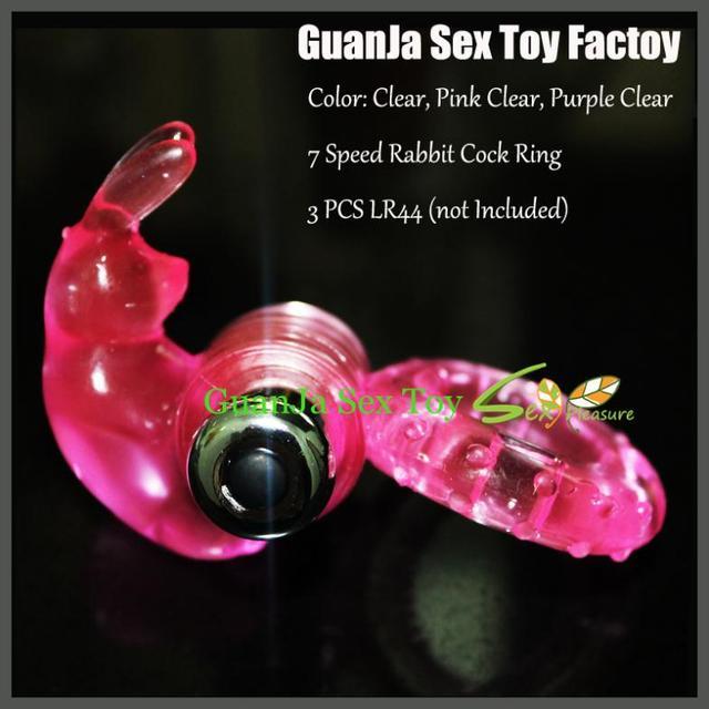 7 Velocidade de vibração Coelho bala de vibração anel peniano anel sexo anel atraso pênis brinquedo do sexo para o homem