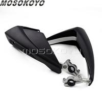 7/8 22mm Handlebar Motorcycle Handguard Hand Guards For Suzuki Honda Yamaha CR150 CR250 CRF250 XR600 XRM250 Motocross Enduro