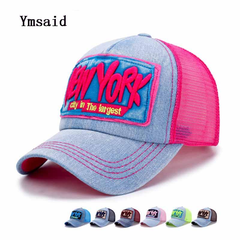 Fashion New Mens Baseball Cap Women Gorras Letter Embroidery Casual Mesh cap Summer Outdoor Sun Hat
