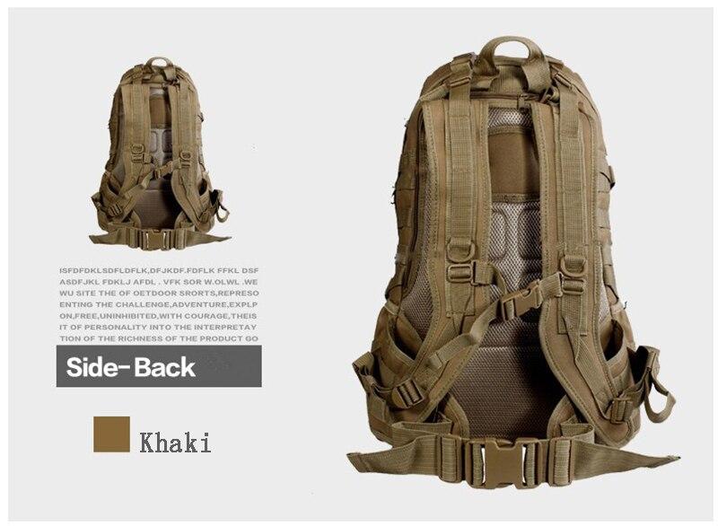 Offre spéciale!!! TAD hommes sac à dos militaire Molle Camouflage sacs de voyage 40L sacs en Nylon imperméable multi-fonction sac à dos pour ordinateur portable - 2