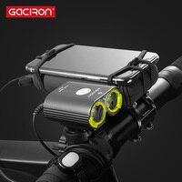 Gaciron V13 분할 유형 자전거 헤드 라이트 경주 IPX6 방수 1600 루멘 자전거 라이트 전면 자전거 램프 액세서리