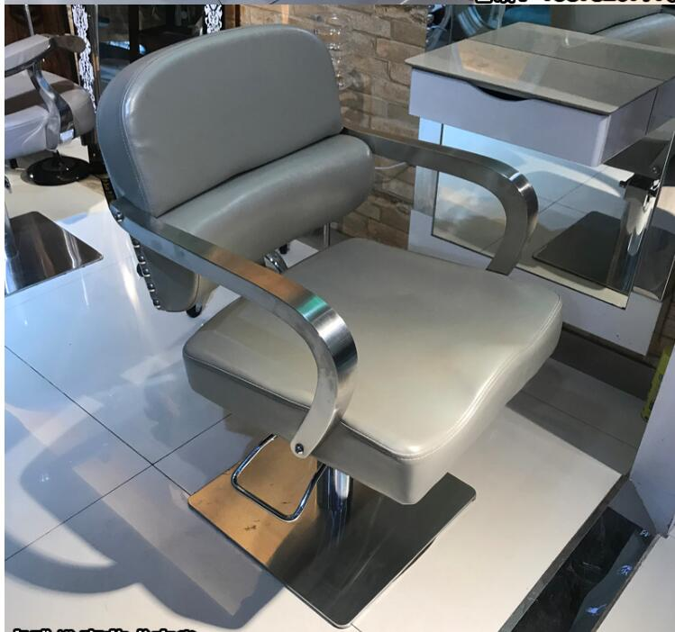 New Special Price Manufacturer Direct Sale Can Lift Hairdressing Chair Fashionable Simple Restoring.ancient Ways Clipping Chair