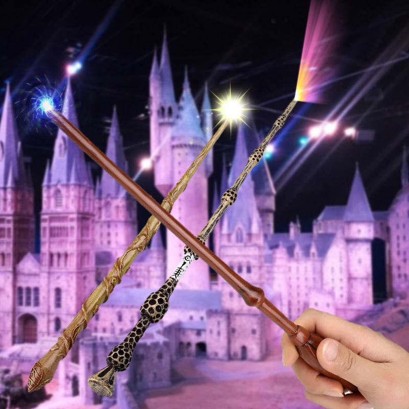 Movie Cosplay Magic Wand Hermione Granger Magical Stick Magic Wand Toys In Box Fun Magic Tricks Toys High Quality Drop Shipping ...