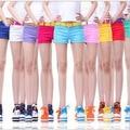 Новые 2016 летние женщины сексуальные шорты женщин шорты женская Мода Повседневная джинсы Шорты Конфеты 16 цветов карандаш мини короткие TA1967