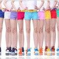 Nova 2016 mulheres verão sexy shorts jeans Casual Shorts das mulheres shorts Das Mulheres Da Forma Doce 16 cores de lápis mini vestido curto TA1967